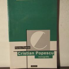 Cristian Popescu: monografie.HOREA POENAR - Studiu literar