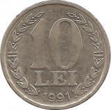 10 Lei 1991 Romania, Europa