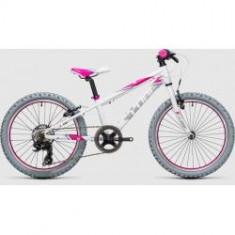BICICLETA COPII CUBE KID 200 White Pink 2017