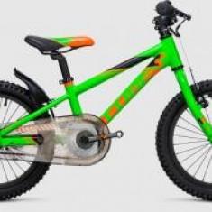 BICICLETA COPII CUBE KID 160 Flashgreen Orange 2017