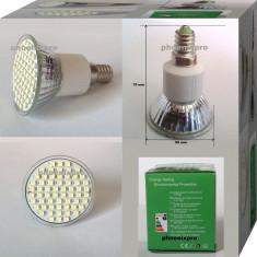 BEC SPOT LED E14 60 leduri 220 V, Becuri LED, Rece (4100 - 4999 K)