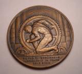 Medalie Regalista Uzinele de Fier si Domeniile Resita - Gravor Becker