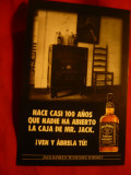 Ilustrata Reclama Whisky Jack Daniels