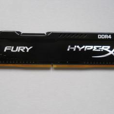 Memorie HyperX Fury Black 4GB DDR4 2133MHz CL14. - Memorie RAM Kingston, Peste 2000 mhz