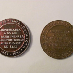 MMM - Lot 2 medalii diferite