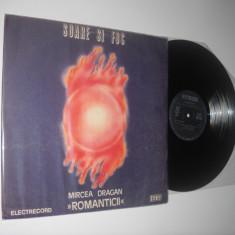 ROMANTICII (cu Mircea Drăgan): Soare Și Foc (singurul lor LP; vinil funk /soul) - Muzica Jazz electrecord