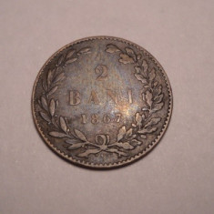 2 bani 1867 Watt - Moneda Romania