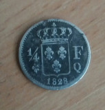 1/4 Franc 1828 -ag.