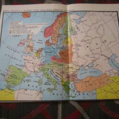 Harta politica a europei intre cele doua razboaie - Harta Europei