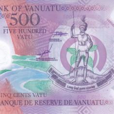 Bancnota Vanuatu 500 Vatu 2017 - PNew UNC ( polimer )