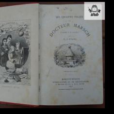 L. M. Alcott Les quatre filles du docteur March 1880 Hetzel editie ilustrata