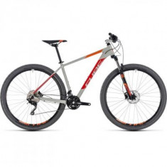 BICICLETA CUBE ATTENTION Grey Red 2018 - Mountain Bike
