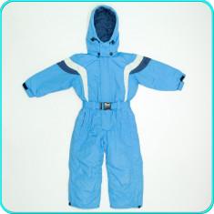 Combinezon—salopeta de iarna, impermeabila, CAMPUS → baieti | 2—3 ani | 98 cm, Marime: Alta, Culoare: Bleu
