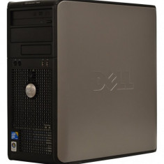Calculator DELL Optiplex 380 Tower, Intel Pentium Dual Core E5800 3.2 GHz, 2 GB DDR3, 160 GB HDD SATA, DVDRW, Windows 10 Home, 3 Ani Garantie - Sisteme desktop fara monitor