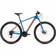 BICICLETA CUBE AIM PRO Blue Orange 2018 - Mountain Bike