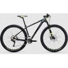 BICICLETA CUBE REACTION GTC SL 2X carbon flashyellow 2017 - Mountain Bike