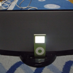BOSE SOUND DOCK FUNCTIONAL +ALIMENTATOR +IPOD NANO 2 GB BONUS