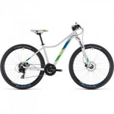 BICICLETA CUBE ACCESS WS EAZ White Green 2018 - Mountain Bike