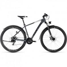 BICICLETA CUBE AIM ALLROAD Grey White 2018 - Mountain Bike