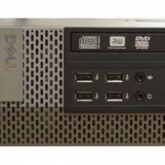 Calculator DELL Optiplex 790 Desktop SFF, Intel Celeron G460 1.8 Ghz, 4 GB DDR3, 250 GB HDD SATA, DVD-ROM, Windows 10 Pro, 3 Ani Garantie - Sisteme desktop fara monitor