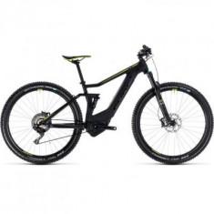 BICICLETA CUBE STEREO HYBRID 120 HPC SL 500 Black Green 2018 - Mountain Bike