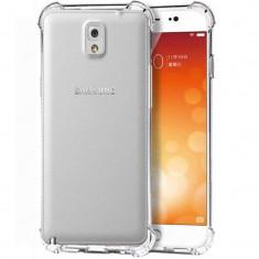 Husa silicon strong pentru Samsung Galaxy Note 3, Transparent