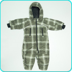 Combinezon tip salopeta iarna, impermeabila, H&M → copii | 9—12 luni | 80 cm, Marime: Alta, Culoare: Din imagine, Unisex