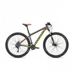 Bicicleta Focus Whistler Pro 29 20G gri/galben/orange 2016 - Mountain Bike