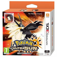 Pokemon Ultra Sun Steelbook Edition Nintendo 3Ds - Jocuri Nintendo 3DS