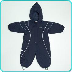 Combinezon—salopeta de iarna, impermeabila, REIMA→ baieti | 9—12 luni | 74—80 cm, Marime: Alta, Culoare: Bleumarin