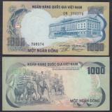 VIETNAM. 1000 DONG 1972. UNC.