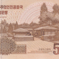 Bancnota Coreea de Nord 5.000 Won 2017 - PNew UNC ( SPECIMEN - comemorativa ) - bancnota asia