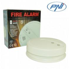 Senzor de fum PNI A022C functionare independenta sau conectat la un sistem de alarma wireless - Sisteme de alarma