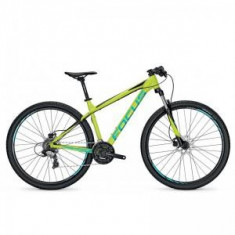 Bicicleta Focus Whistler Elite 29 24G limegreen 2017 - Mountain Bike
