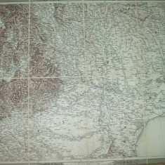 Transilvania Moldova Dobrogea Marea Neagra 1873 Viena Klafter harta 035