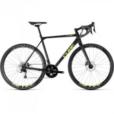 BICICLETA CUBE CROSS RACE Black Flashyellow 2018 - Bicicleta Cross