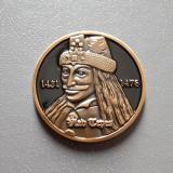 Medalie Vlad Tepes - castelul Bran