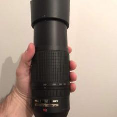Obiectiv foto nou Nikon 70-300 - Obiectiv DSLR