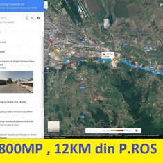 7800 mp intravilan, 12 km din P.Ros, numai 39000 euro - Teren de vanzare, Teren intravilan
