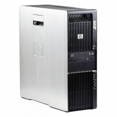 HP Z600 2 x Intel Xeon E5606 2.13 GHz 8 GB DDR 3 ECC 250 GB HDD DVD-ROM 1 GB Quadro K600 Tower Windows 10 Pro