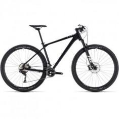 BICICLETA CUBE REACTION SL Black White 2018 - Mountain Bike