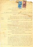 Z97 DOCUMENT VECHI -EXTRACT DIN REGISTRUL ACTELOR DE MORTI PE ANUL 1918-LEONTE