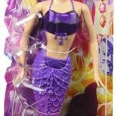 Papusa Mattel Barbie Mermaid Gem Fashion