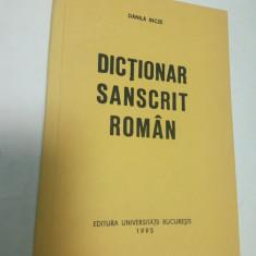 DICTIONAR SANSCRIT - ROMAN - Danila Incze