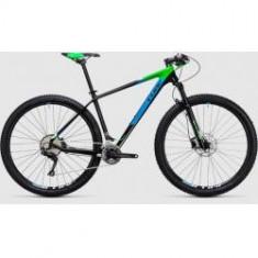 BICICLETA CUBE REACTION GTC 2X carbon green 2017 - Mountain Bike