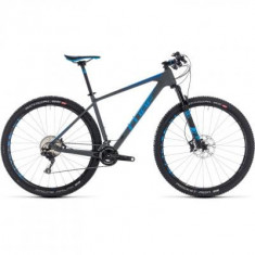 BICICLETA CUBE REACTION C:62 SL Grey Blue 2018 - Mountain Bike
