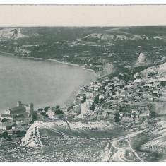 4124 - Dobrogea, BALCIC, Panorama - old postcard, real PHOTO - unused - Carte Postala Dobrogea dupa 1918, Necirculata, Fotografie