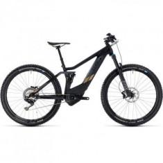 BICICLETA CUBE STING HYBRID 120 HPC SL 500 Carbon Gold 2018 - Mountain Bike