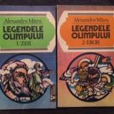 Legendele Olimpului ( Eroii + Zeii ) - Alexandru Mitru- 4 - Carte mitologie
