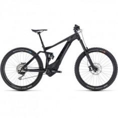 BICICLETA CUBE STEREO HYBRID 160 SL 500 27.5 Black Grey 2018 - Mountain Bike